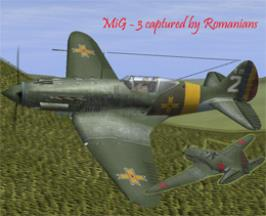 MiG - 3 captured by Romanians
