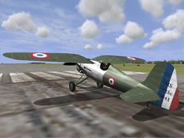 Р-11с. stylisation  Morane-Saulnier MS-225