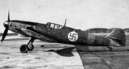 latvian air force  BF109