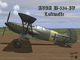 AVIA B-534  Luftwaffe yellow