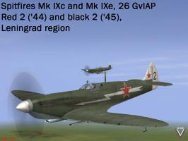 Spit 26GvIAP '44-'45 by Myshlayevsky