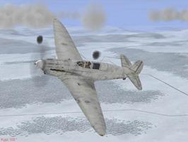 Yak-7A winter camo