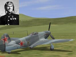Yak-9D of Avdeev M.V.