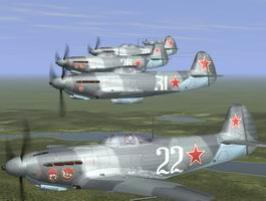 Yak-9D 3 squad of 6GIAP