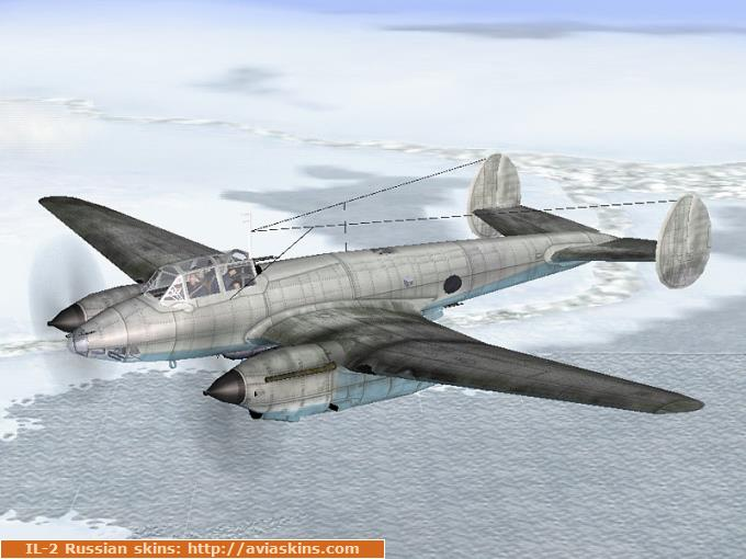 Pe-2 series 84 (winter camo)